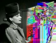Glitch Noir The 1947 film noir Nora Prentiss gets a remix from Flickr user Hugh Manon, as Ann Sheridan talks to a computerized ghost.