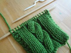 Fiber Flux: From the Knitting Stitch Library...How to Make Cables