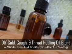DIY Cold, Cough and Throat Healing Oil Blend for natural at-home, homeopathic remedies using essential oils. Aromatherapy cold, cough and sore throat natural healing. Essential Oils Cleaning, Doterra Essential Oils, Essential Oil Blends, Young Living Oils, Young Living Essential Oils, Healing Oils, Natural Healing, Oils For Sore Throat, Homeopathic Remedies