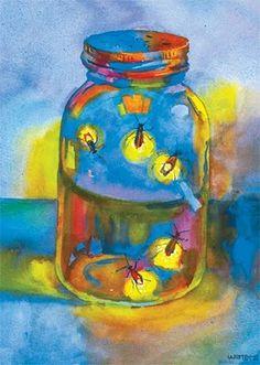 watercolor by Mississippi artist Wyatt Waters