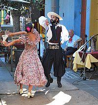 Todo sobre las danzas tradicionales de los pueblos de latinoamerica: Sobre la Zamba