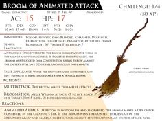 Broom of Animated Attack by Almega-3