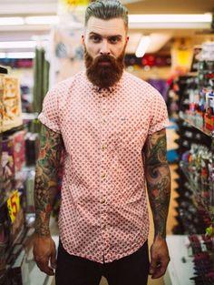 hairygingerman: perfect bearded man