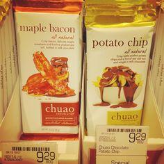 Maple Bacon again...  メープル ベ ー コ ン チョコレート 高級スーパーにてここでもベーコンお値段高め メープル本場でも認める味なのかでもやっぱり手は出せない . . . #vancouver #canada #britishcolumbia #travel #trip #worldtraveler #supermarket #chocolate #bacon #maplebacon #スーパーマーケット #ベーコン #メープルベーコン #戸惑い #chuao #urbanfare #チョコレート