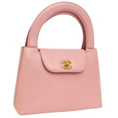 View this item and discover similar for sale at - Chanel Baby Pink Leather Top Handle Satchel Kelly Style Small Party Evening Bag Leather Gold tone hardware Leather lining Turnlock closure Handle drop Chanel Handbags 2017, Chanel Purse, Fashion Handbags, Mini Chanel Bag, Chanel Chanel, Burberry Handbags, Chanel Black, Mini Handbags, Vintage Handbags
