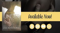 Deep Under Trailer (a Tall, Dark and Deadly novel) Book Trailers, Bestselling Author, Novels, Deep, How To Plan, Reading, Lisa, Books, Passion