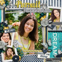 Sweet Shoppe Designs :: Templates & Tools :: Layout Templates :: Cindy's Layered Templates - Half Pack 58: Photo Focus 20 by Cindy Schneider