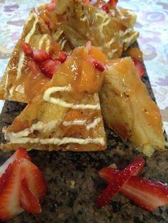 Palisade Peach Bread Pudding