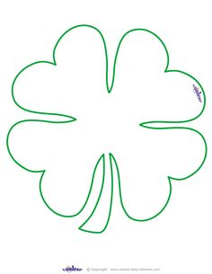 Large Printable Clover Coolest Free Printables