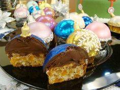 Saboroso Gostinho: Cupcake bola de natal