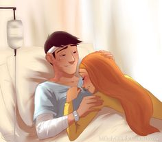 He'll be fine AU by Milady666 on DeviantArt <<< THAT SHOULD BE HIRO INSTEAD OF HONEY LEMON