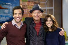 Howie Mandel with JD and Rebecca!