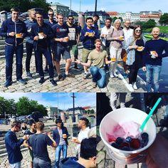 Förbättras kvaliteten i produkten bör man fira!  Vi firar med #frozenyogurt i  #BringLifeToWork #gbgtech #gbgftw #sol #startuplife #startuplife
