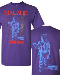 Macabre Zodiac Shirt (Purple)