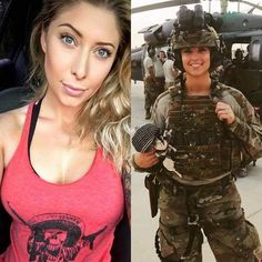 Here we share a new collection of ARMY WOMEN in and out of uniform. These are the 41 professional military women in & out of uniform looking so hot. Country Girl Look, Mädchen In Uniform, Female Soldier, Army Soldier, Female Marines, Military Girl, Military Women, Girls Uniforms, Work Attire