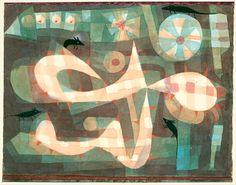 Paul Klee, The Barbed Noose with the Mice, 1923 on ArtStack #paul-klee #art
