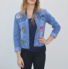 The product Veste jean écussons is sold by Zohoha in our Tictail store.  Tictail lets you create a beautiful online store for free - tictail.com