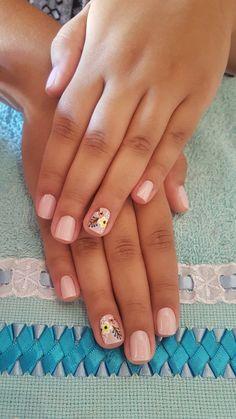 Pin on Nail& Pin on Nail& Nail Art Cute, Nail Art Diy, Diy Nails, Cute Nails, Nail Pops, Short Nails Art, Toe Nail Designs, Simple Nails, Trendy Nails
