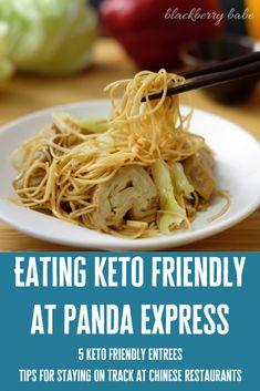 5 Keto Friendly Options at Panda Express   tips for staying on keto at chinese restaurants! #keto #pandaexpress #ketofriendly