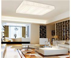 Luminaria a techo de madera lámpara LED lámparas de techo hermoso estilo para el dormitorio comedor lámpara de techo moderna 220 v lámparas