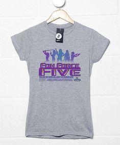 Fox Force Five New Women's T Shirt - Sport Grey / 8-10