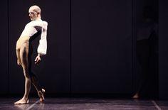 "Ballet dancer Michael Clark in rehersals for his ballet ""Mmm"""