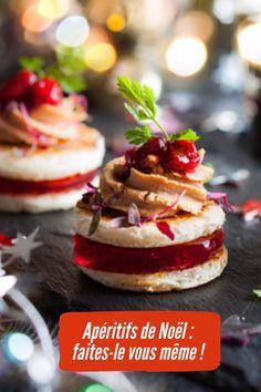 Apéritifs de Noël , des tas d'idées recettes à grignoter facile à faire !