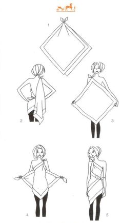 How to tie a toga.I freaking need a toga now.-- not a toga Scarf Dress, Scarf Top, Scarf Shirt, Wrap Shirt, Diy Scarf, Diy Dress, Sarong Dress, Wrap Dress, Shirt Dress Diy