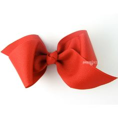 New Style Loopy Pinwheel Hair Bow Red Hair Bows 3.5 Inch Solid Color... ($4.95) ❤ liked on Polyvore featuring accessories, hair accessories, barrettes & clips, light pink, hair bows, red bow hair accessories, red hair clip, barrette hair clips and turquoise hair accessories