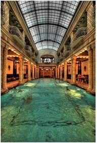 The Gellert Baths, Budapest, Hungary