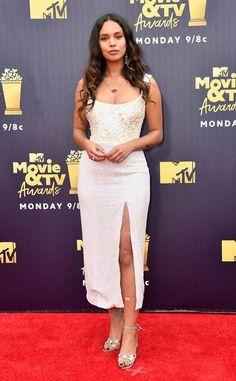 Zazie Beetz from MTV Movie & TV Awards 2018: Red Carpet Fashion | E! News
