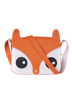 Cartoon Owl Head Shoulder Bag - OASAP.com