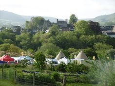 How the Light Gets in Festival site and Hay Castle | Hay on Wye