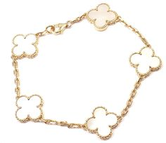 Now available at Fortrove.com: Auth Van Cleef & ... Freshly added just for you! http://fortrove.com/products/auth-van-cleef-arpels-18k-gold-mother-of-pearl-vintage-alhambra-bracelet-cert?utm_campaign=social_autopilot&utm_source=pin&utm_medium=pin #MakeAnOffer