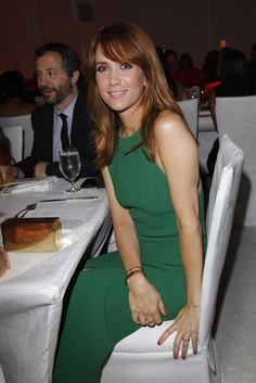 Kristen Wiig in Calvin Klein Collection at Elle's Women in Hollywood Party- also wearing TRUNFIO Jewels rings!