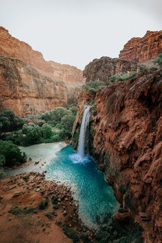 Getting There - Travel Guide to Hiking Havasupai - Lovely and Limitless - Havasu Falls Havasupai Arizona - Havasupai Waterfalls, Havasupai Falls, Havasupai Arizona, Sedona Arizona, Havasu Falls Arizona, Arizona Waterfalls, Arizona Road Trip, Arizona Travel, Places To Travel
