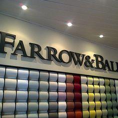 #FarrowandBall store #Islington #London