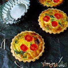 Ricotta, Quiche, Muffin, Cooking Recipes, Breakfast, Desserts, Food, Restaurant, Pie