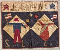 Join Julie at the shop next Monday evening May 20th from 6:00pm 'til 9:00pm for Monday's Best class... This month's project is this oh so stinkin' cute quilt 'Sweet Land of Liberty' Better sign-up soon... YOU know you wanna ;-)
