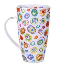 Dunoon Razzmatazz Henley shape Mug | Temptation Gifts