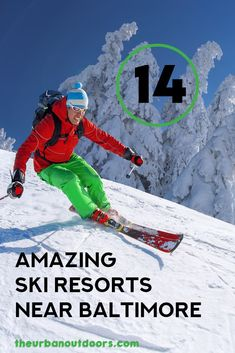 Looking for amazing ski resorts near Baltimore so you can go skiing or snowboarding? We have compiled a guide for the best ski resorts in Baltimore so you can stay active this winter and enjoy your favorite snow sports. Whether you want a ski resort for beginners, a fun terrain hill, or more advanced slopes, we have you covered. You can't go wrong with any of these great ski resorts in Maryland!