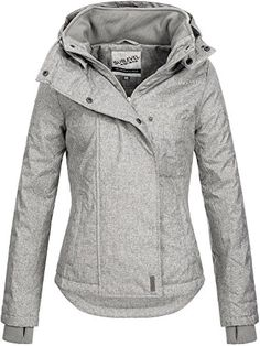 f6a28400c95a Sublevel Damen D5174X46550D Jacke Übergangsjacke mit Kapuze 13 Farben  XS-XL  Amazon.de  Bekleidung