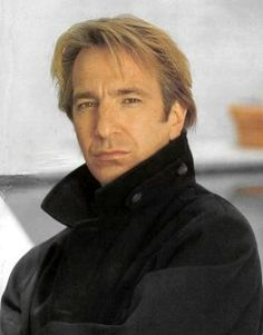 Because he's Alan Rickman and he's a legend.