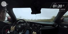 The Alfa Romeo Giulia QV Sounds Great Getting Sideways On Track Its Not Suprising That The 505 Horsepower Rear-Wheel Drive Giulia Can Get Oversteer But Its Still Enjoyable To Watch