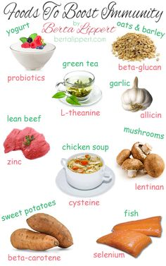 Be sure to include these foods in your diet for a healthy & strong immune system