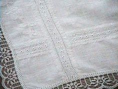 Janice Henning's Lace Illusion Table Runner