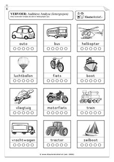 werkbladen zomer vakantie - Google zoeken Homeschool Kindergarten, Preschool Worksheets, Speech Therapy, Kids Learning, Activities For Kids, Transportation, 1, Classroom, Letters