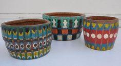 Vintage Palmwood Drum Bowl - Mecox Gardens #LosAngeles #interiordesign