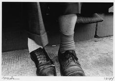 Mark Cohen, Two Guys' Shoes and Feet, 1973