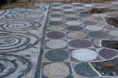 #Caracalla Baths #Mosaics
